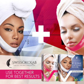 SWISSOKOLAB Double Chin Reducer V Line Lifting Mask