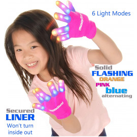 The Noodley LED Gloves