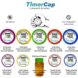 TimerCap Smart Medicine Bottle Cap