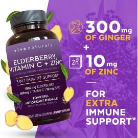 Viva Naturals Elderberry Immunity