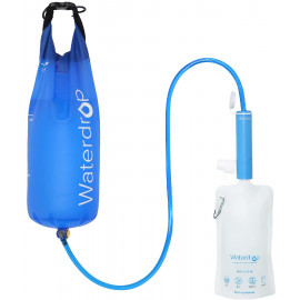 Waterdrop Portable Water Filter Straw Collapsible Water Pouch