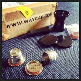 WayCap Ez - Refillable Coffee Capsule Nespresso