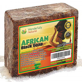 Wonderfully Natural African Black Soap Acne Treatment