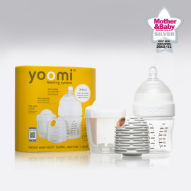 yoomi Feeding System - Self-Warming Bottle