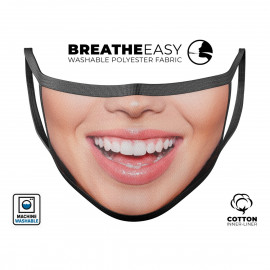 Your Own Smile Reusable & Washable Face Mask