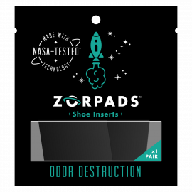 ZORPADS - SHOE ODOR DESTRUCTION
